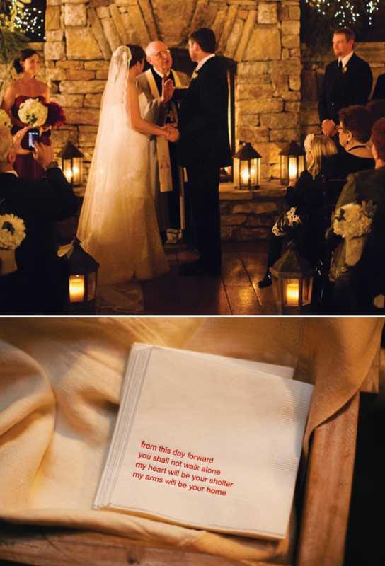 rustikovaya-svadba-7 Вариант организации свадьбы в стиле рустик в зимний период года, на чем заострить внимание