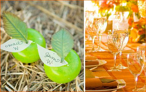 sochnaya-osennyaya-svadba-6 Идеи для создания яркой осенней свадьбы, как сделать уютное торжество в самое дождливое время года