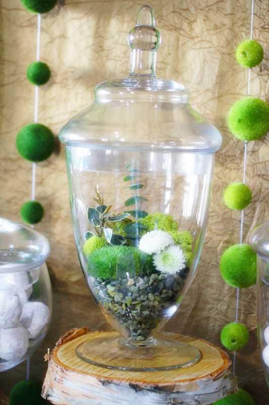 svadba-v-stile-zelenogo-sada-2 Яркая и сочная зеленая свадьба в стиле зимнего сада, простые идеи для вдохновения