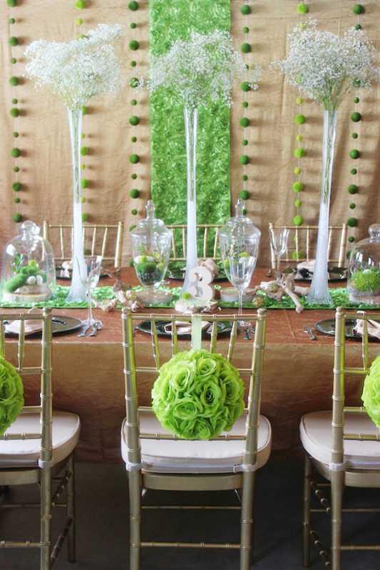 svadba-v-stile-zelenogo-sada-3 Яркая и сочная зеленая свадьба в стиле зимнего сада, простые идеи для вдохновения