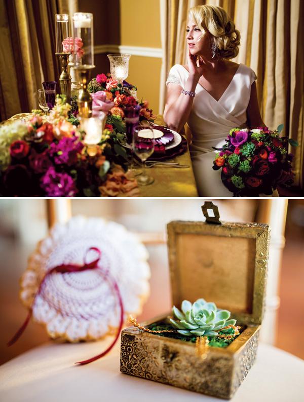 vintazhno-gamurnaya-svadba-5 Винтаж и гламур в свадебном торжестве, как правильно сочетать между собой эти два стиля