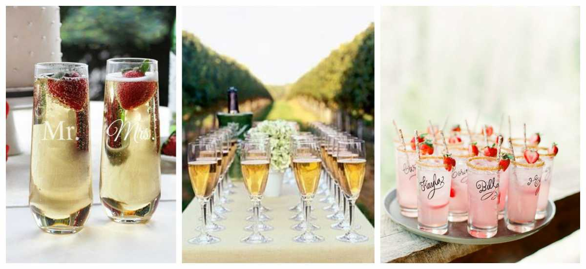 Нюансы составления свадебного меню: какие безалкогольные напитки должны присутствовать на столе