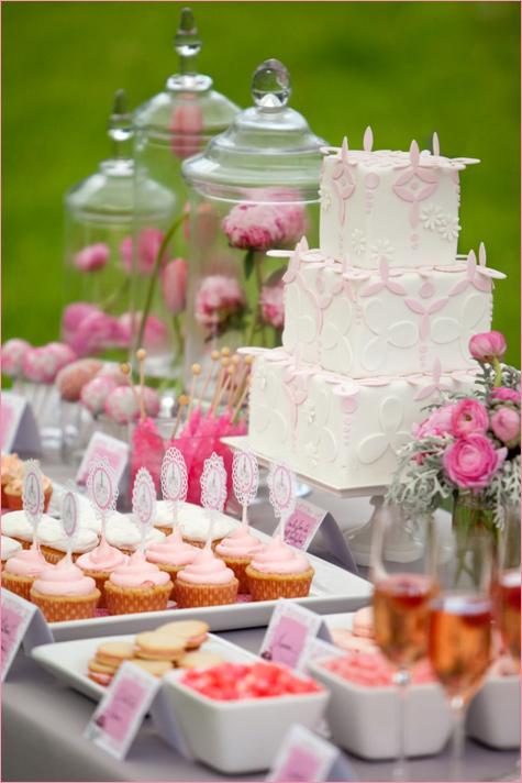 1-nezhnejshij-Kendi-Bar-v-rozovom-tsvete Нежнейший розовый Кэнди Бар, как отдельный элемент свадебного торжества