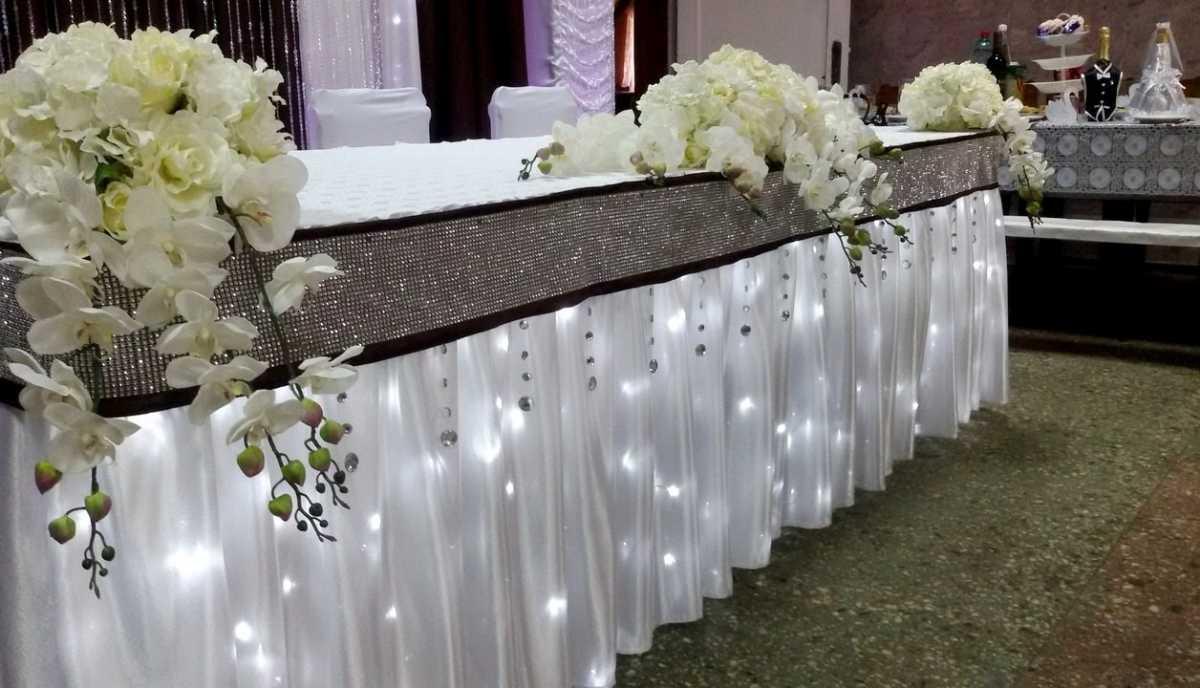 Украшение зала на свадьбу в белом цвете, как организовать, чтобы торжество не получилось скучным и блеклым