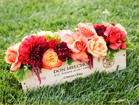 1-svadba-v-stile-vinodeliya Свадьба в стиле виноделия - удивительное торжество в оттенках бордового и алого цвета