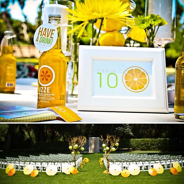 1-tsitrusovaya-svadba Идеи для организации цитрусовой свадьбы для летнего яркого торжества