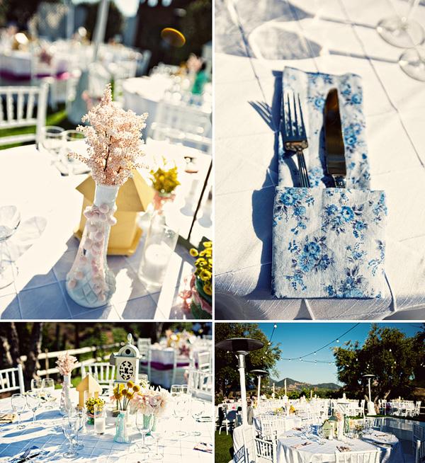 dekor-svadby-tsvetami-iz-bumagi-5 Декор свадьбы бумажными цветами, кто сказал что хендмейд не может быть модным?
