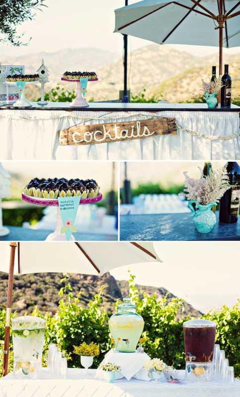 dekor-svadby-tsvetami-iz-bumagi-7 Декор свадьбы бумажными цветами, кто сказал что хендмейд не может быть модным?
