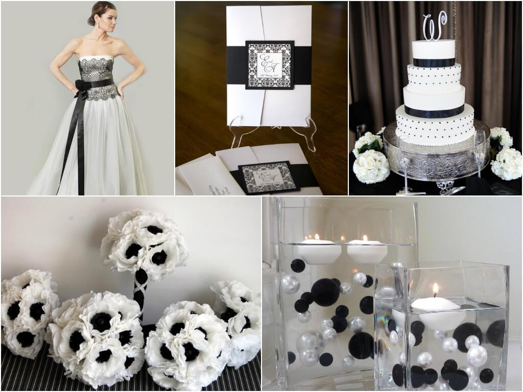 dekor-svadby-v-cherno-belom-tsvete-3 Свадьба в черно-белом цвете сочетание стиля и элегантности в торжестве