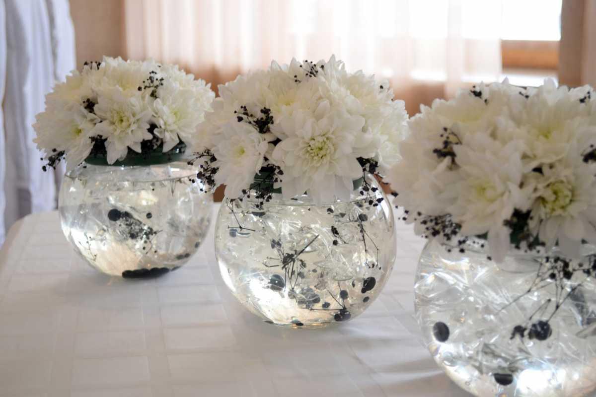 dekor-svadby-v-cherno-belom-tsvete-8 Свадьба в черно-белом цвете сочетание стиля и элегантности в торжестве