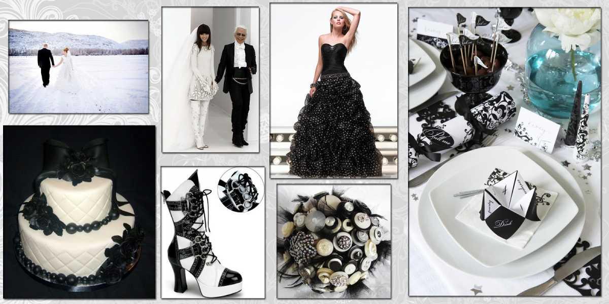 dekor-svadby-v-cherno-belom-tsvete-9 Свадьба в черно-белом цвете сочетание стиля и элегантности в торжестве