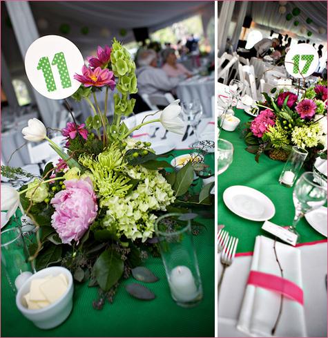 energichnaya-zelenaya-svadba-5 Энергичная зеленая свадьба летом для влюбленных, которые хотят яркое торжество