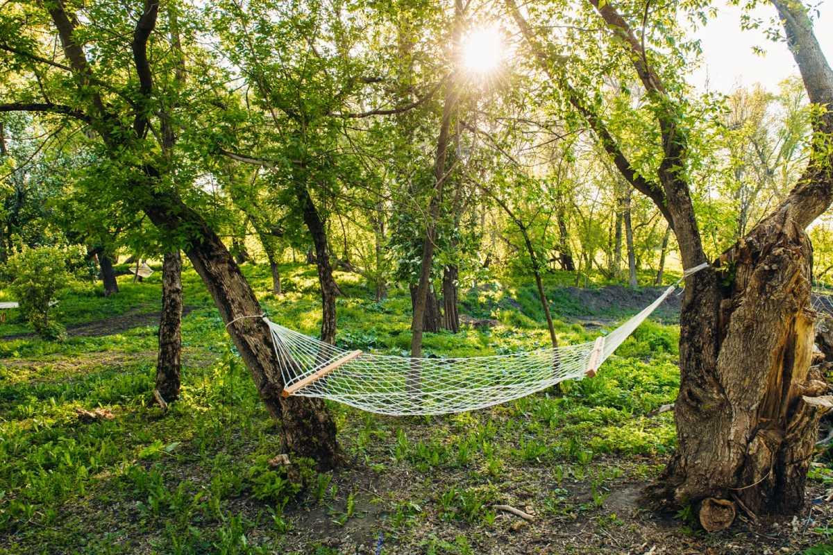 gamak-na-svadbe-6 Гамак на летней свадьбе интересный вариант лаунж зоны на торжестве на природе