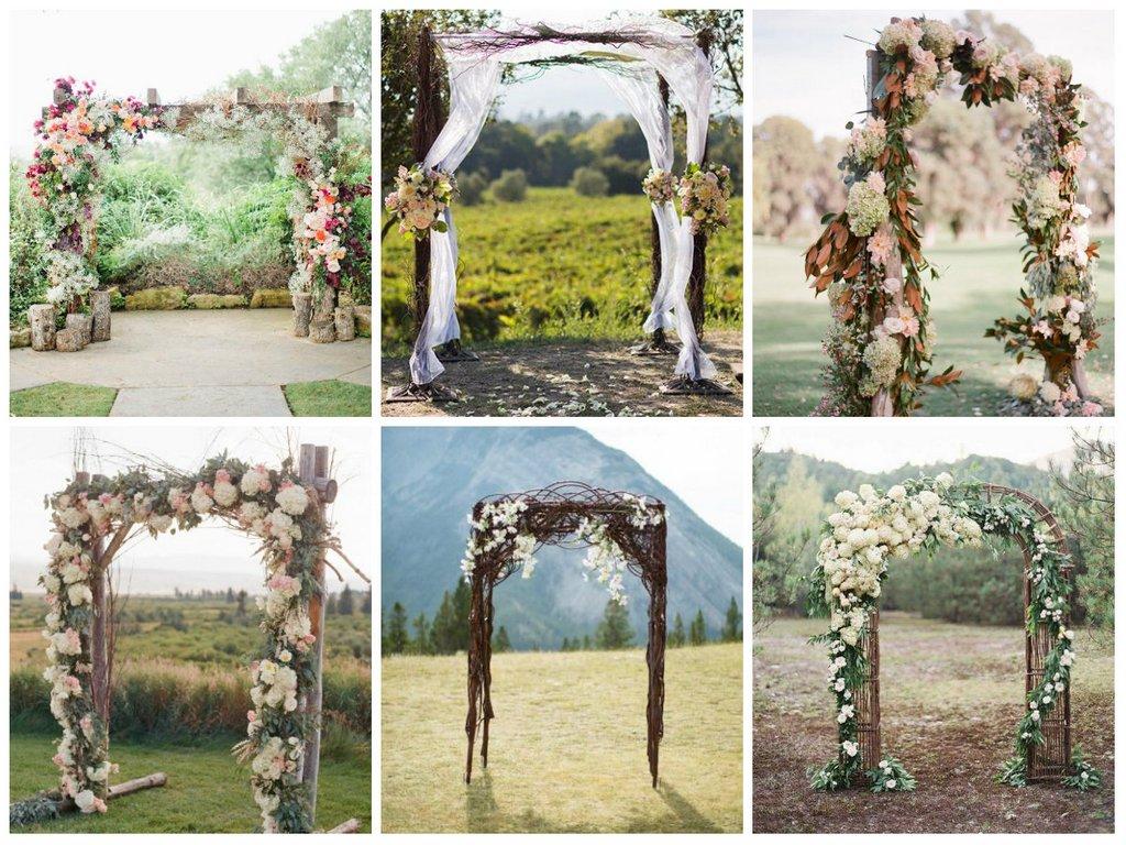 Мастер класс арка из цветов на свадьбу