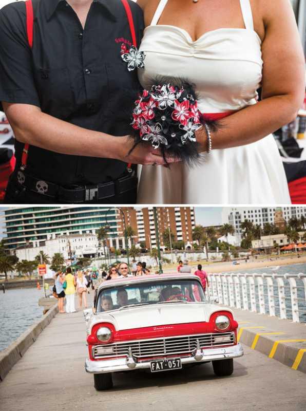 krasno-belo-chernyj-svadba-5 Трехцветная свадьба как сочетать в свадебном декоре  несколько цветов