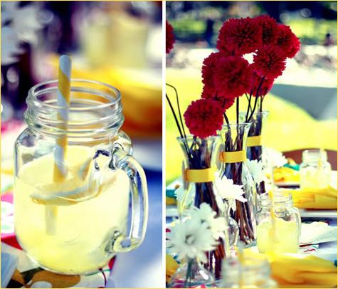 limonadnyj-Kendi-Bar-2 Лимонадный Бар  прекрасная замена сладкого десертного стола на свадьбе проходящей в летний период года