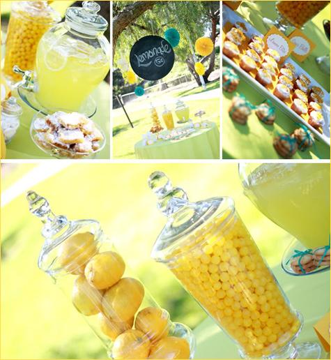 limonadnyj-Kendi-Bar-7 Лимонадный Бар  прекрасная замена сладкого десертного стола на свадьбе проходящей в летний период года