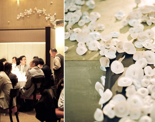 ofitsialnaya-svadba-v-stile-belo-chernyj-7 Официально и довольно строгое оформление свадьбы в белом цвете с использованием черного декора