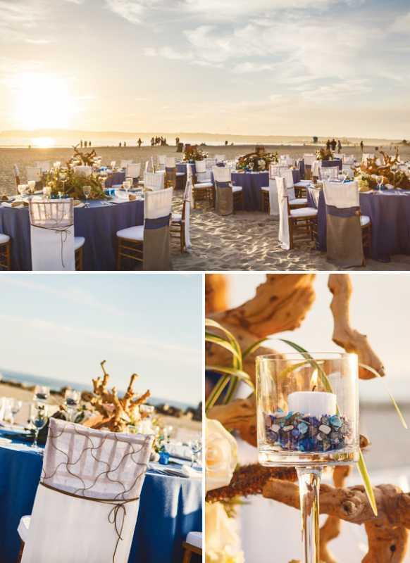 plyazhnaya-svadba-na-beregu-okeana-2 Красивая свадьба на берегу океана в пляжной тематике, идеи для организации торжества