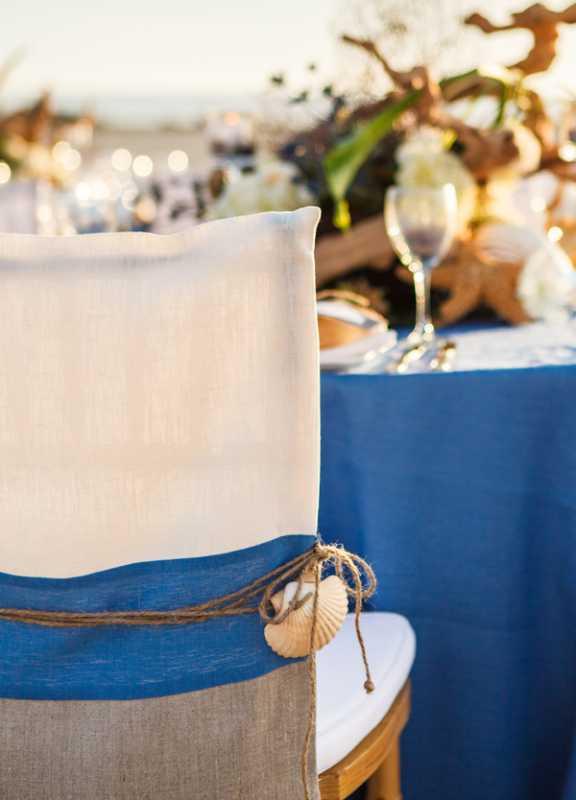 plyazhnaya-svadba-na-beregu-okeana-3 Красивая свадьба на берегу океана в пляжной тематике, идеи для организации торжества