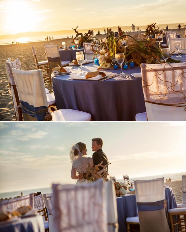 plyazhnaya-svadba-na-beregu-okeana-7 Красивая свадьба на берегу океана в пляжной тематике, идеи для организации торжества