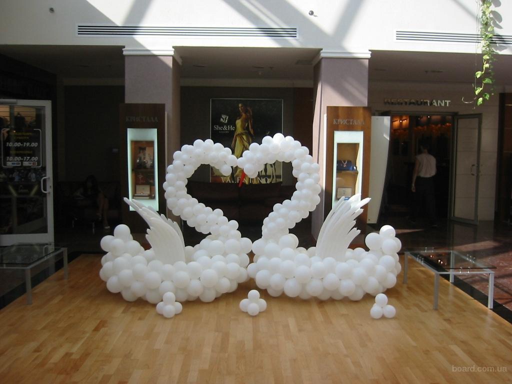 shary-na-svadbu-svoimi-rukami-7 Украшение из шаров на свадьбу своими руками, варианты использования воздушного декора