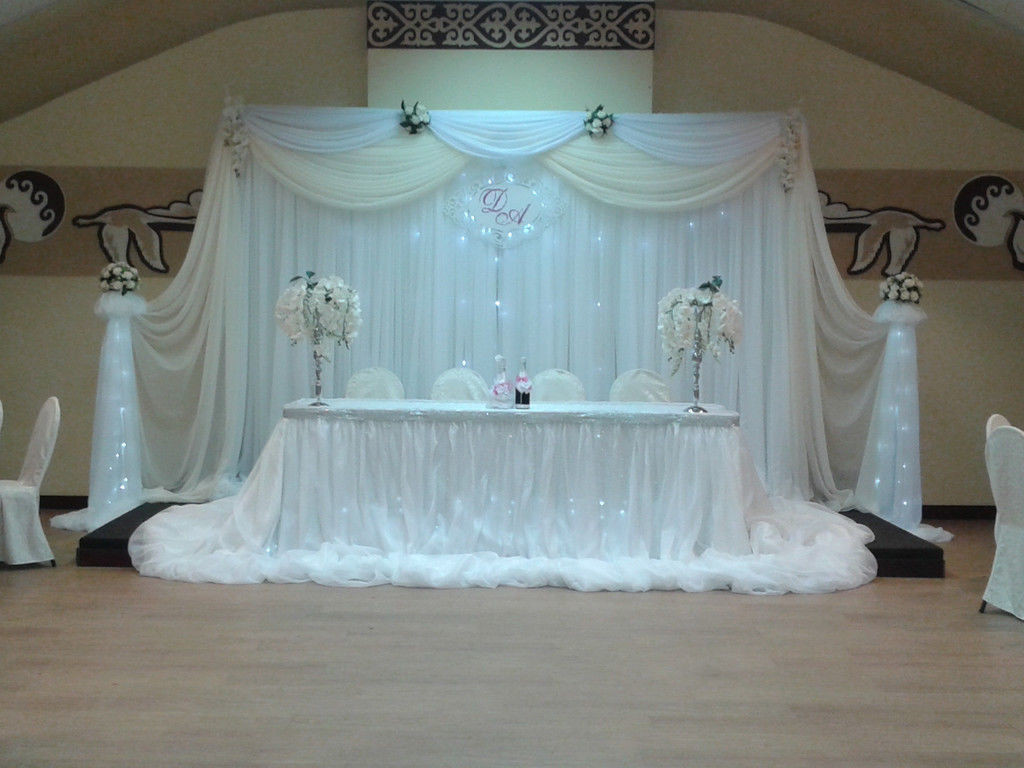 svadba-v-belom-tsvete-2 Украшение зала на свадьбу в белом цвете, как организовать, чтобы торжество не получилось скучным и блеклым