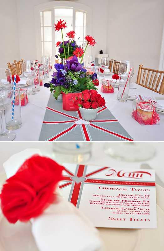 svadba-v-stile-Angliya-4 Идеи для вдохновения: создание свадьбы в английском стиле