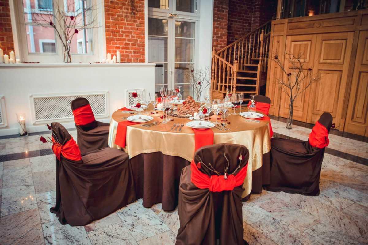 svadba-v-stile-shokolad-4 Свадьба в цвете шоколада, простые идеи для создания самого сладкого праздника