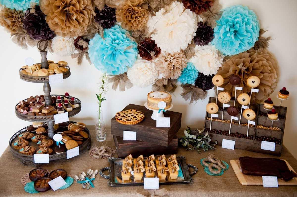 svadba-v-stile-shokolad-5 Свадьба в цвете шоколада, простые идеи для создания самого сладкого праздника