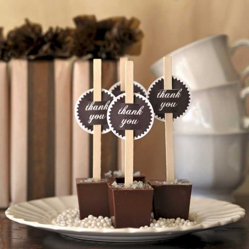 svadba-v-stile-shokolad-8 Свадьба в цвете шоколада, простые идеи для создания самого сладкого праздника