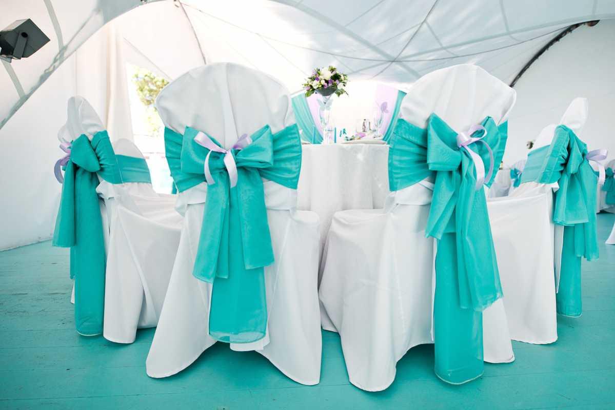 Свадьба в цвете тиффани фото