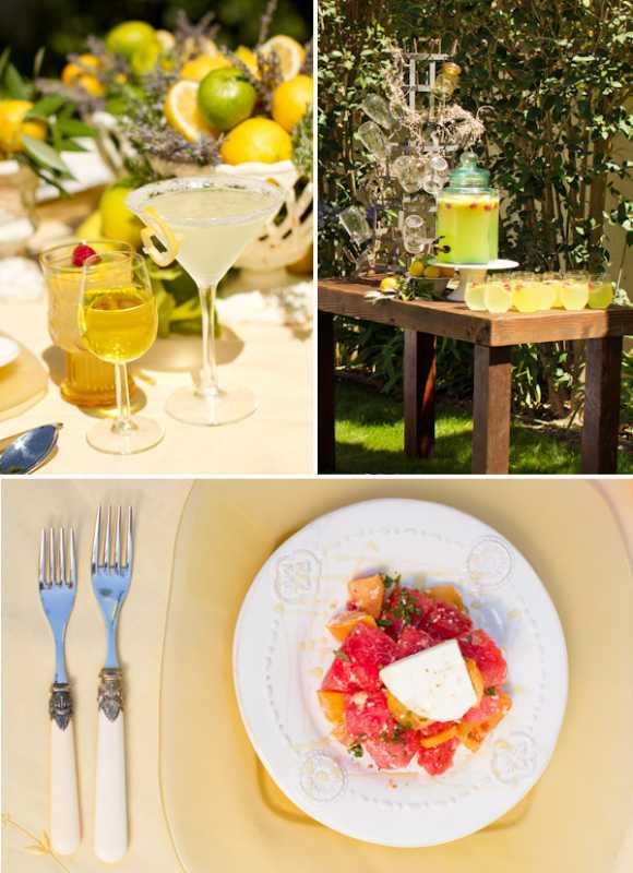 svadebnaya-servirovka-limon-i-lavanda-4 Сервировка свадебного стола в стиле сочного лимона и ароматной лаванды