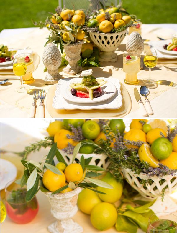 svadebnaya-servirovka-limon-i-lavanda-5 Сервировка свадебного стола в стиле сочного лимона и ароматной лаванды