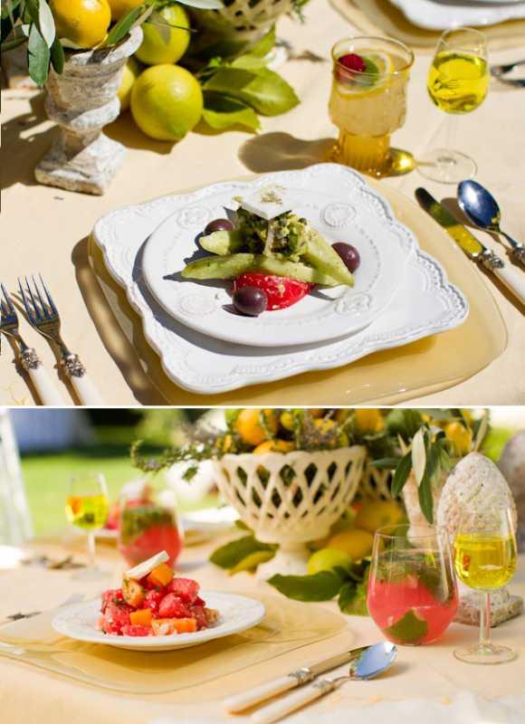 svadebnaya-servirovka-limon-i-lavanda-7 Сервировка свадебного стола в стиле сочного лимона и ароматной лаванды