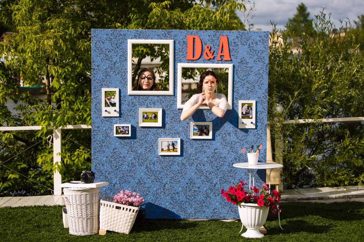 svadebnye-ramki-dlya-dekora-5 Свадебные рамки для оформления торжества в богемном и винтажном стиле