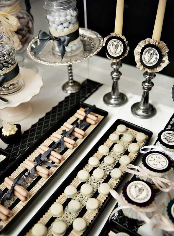 svadebnyj-Kendi-Bar-gotika-3 Как организовать готический Кэнди Бар на свадьбе, чтобы он не придал радостному торжеству мрачный оттенок