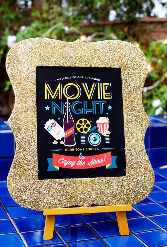"svadebnyj-Kendi-Bar-kino-9 Удивительный Кэнди Бар в стиле кино на свадьбе по мотивам ""Церемонии вручения Оскара"""