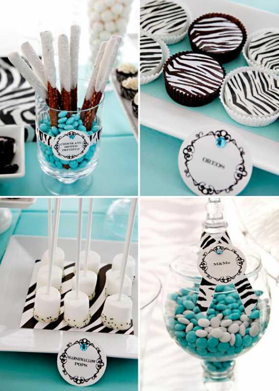 """svadebnyj-Kendi-Bar-zebra-3 Сладкий свадебный Кэнди Бар в стиле """"Зебра"""", оставайтесь в тренде и следуйте за стилем сафари"""