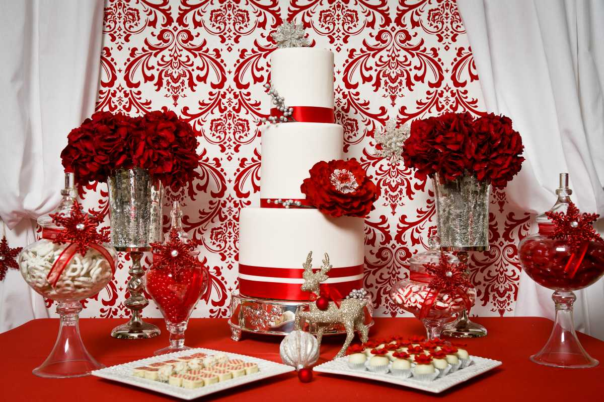 svadebnyj-kendi-Bar-v-krasnom-tsvete-2 Свадебное оформление в красном цвете Кэнди Бара, который станет яркой свадебной зоной на любом тематическом торжестве