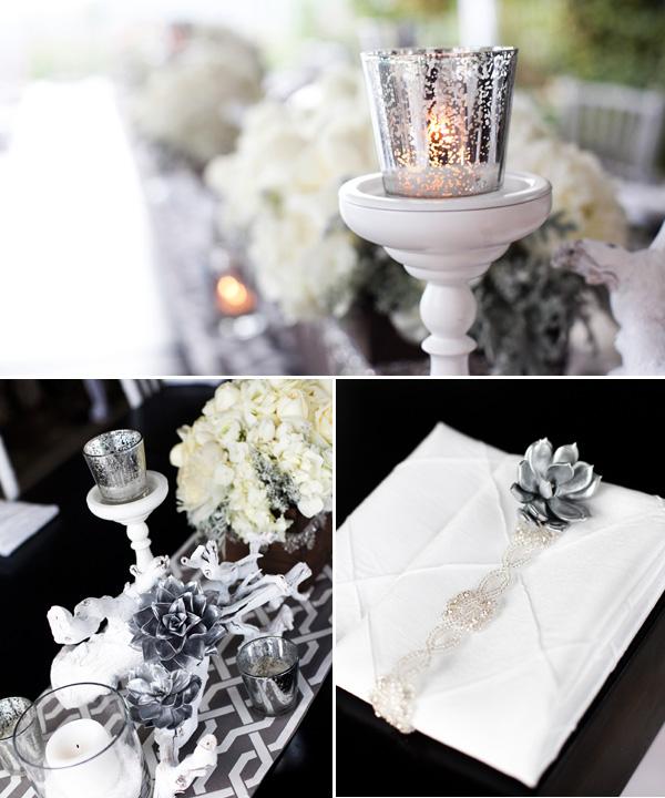 svadebnyj-stol-v-belom-tsvete-4 Сервировка свадебного стола в бело-серебряном цвете: сочетание изысканности и романтики