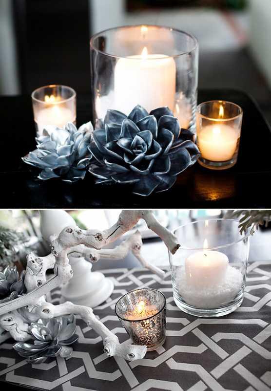 svadebnyj-stol-v-belom-tsvete-7 Сервировка свадебного стола в бело-серебряном цвете: сочетание изысканности и романтики