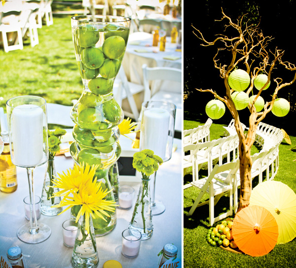 tsitrusovaya-svadba-4 Идеи для организации цитрусовой свадьбы для летнего яркого торжества