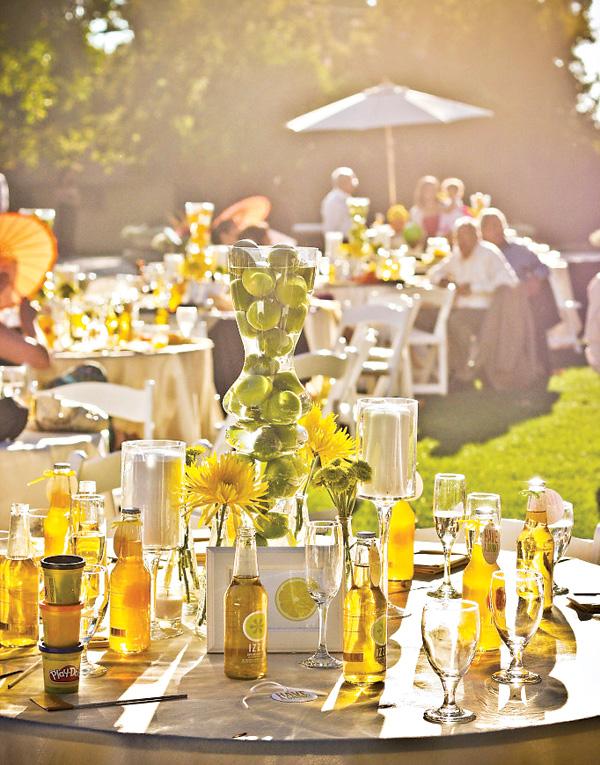 tsitrusovaya-svadba-6 Идеи для организации цитрусовой свадьбы для летнего яркого торжества