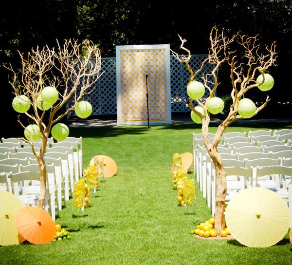 tsitrusovaya-svadba-7 Идеи для организации цитрусовой свадьбы для летнего яркого торжества