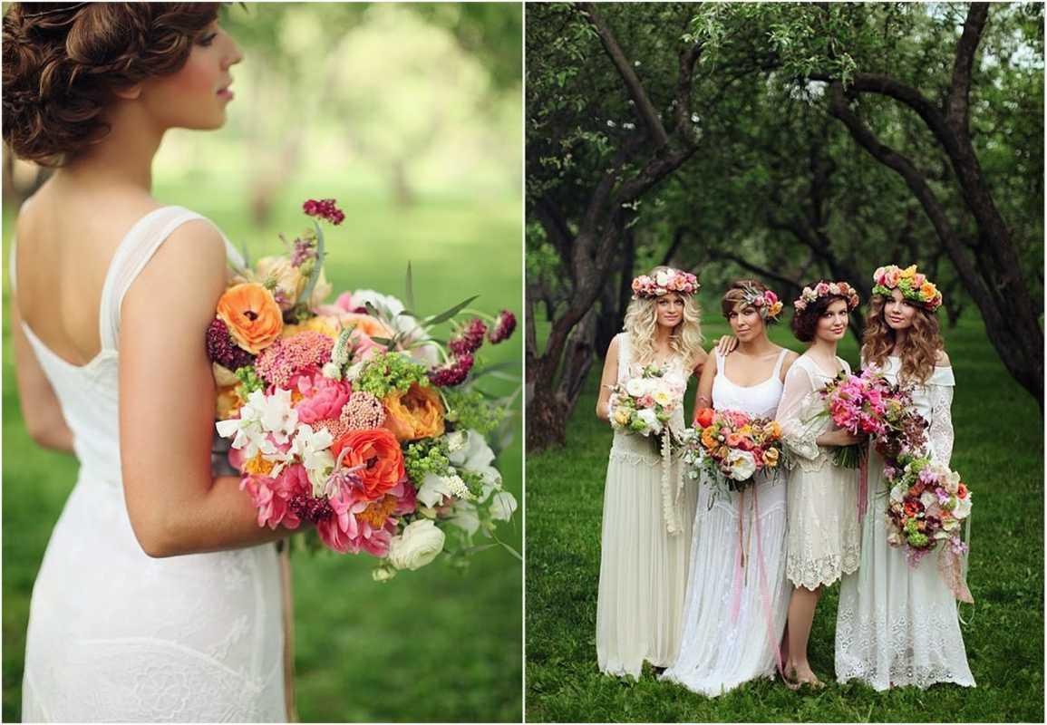 venok-dlya-nevesty-na-svadbu-6 Венки на голову из цветов на свадьбу, нежный свадебный аксессуар для волос невесты
