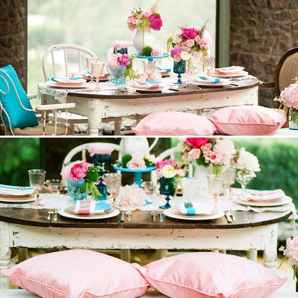 vintazhnaya-rozovo-golubaya-svadba-6 Винтажная свадьба в розово-голубом цвете подбираем декор для выездной церемонии