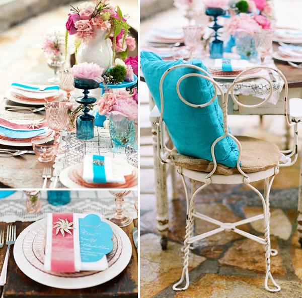 vintazhnaya-rozovo-golubaya-svadba-9 Винтажная свадьба в розово-голубом цвете подбираем декор для выездной церемонии