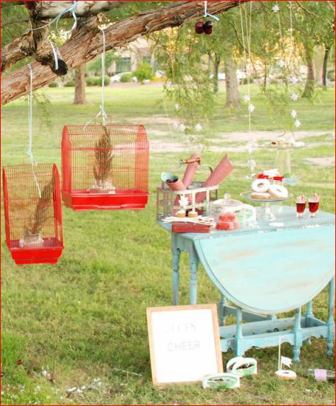 zimnij-svadebnyj-Kendi-Bar-letom-3 Свадьба летом: необычный зимний свадебный Кэнди Бар в самый разгар летнего торжества