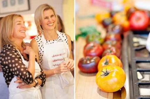 Удивительная и необычная идея: кулинарный девичник в формате мастер класса